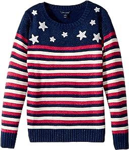 Tommy Hilfiger Kids - Stars and Stripes Pullover (Big Kids)