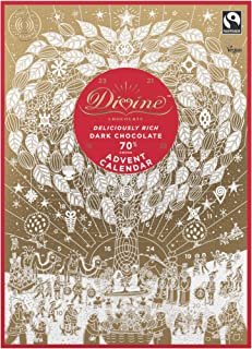 Divine Dark Chocolate Advent Calendar 85g
