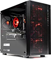 SkyTech Blaze - Gaming Computer PC Desktop – Ryzen 5 1600 6-Core 3.2 GHz, NVIDIA GeForce GTX 1050 Ti 4GB, 1TB HDD, 16GB DDR4, AC WiFi, Windows 10 Home 64-bit (16GB Version)