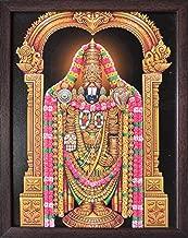 Lord Venkateswara, Venkataramna Govinda Known as Balaji and Incarnation of Vishnu, A HinduReligious Poster Painting for Wealth. Prosperity and Good Luck at Home/Work Place