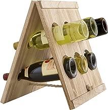 Artland 22113 Mixology Wine Bottle Rack, Wood
