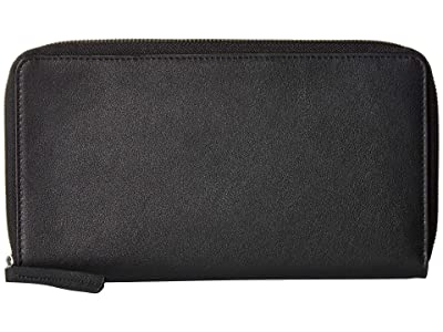 ECCO Casper Travel Wallet (Black) Wallet Handbags