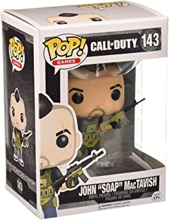 Funko John 'Soap' MacTavish 11849 - Figura de vinilo, seria Call of Duty