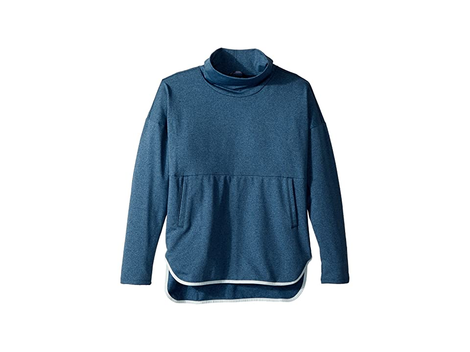 The North Face Kids Pamilia Poncho (Little Kids/Big Kids) (Blue Wing Teal Heather) Girl