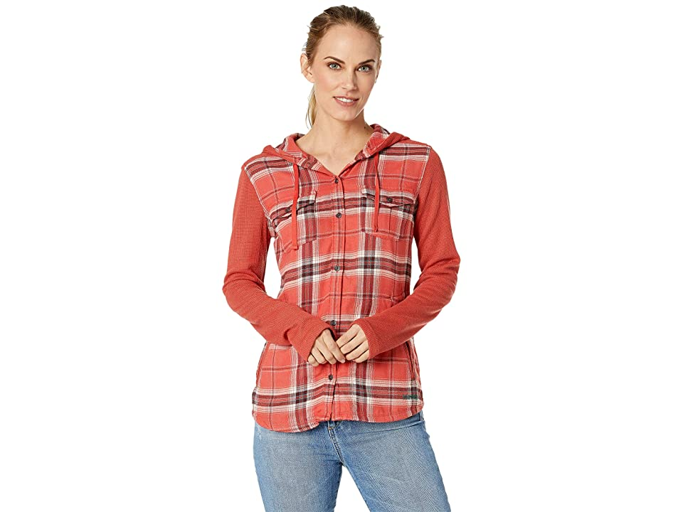 Marmot Reagan Midweight Flannel Long Sleeve (Desert Red) Women