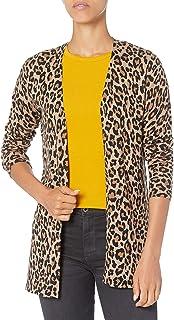 Amazon Essentials suéter de cárdigan ligero con frente abierto para mujer
