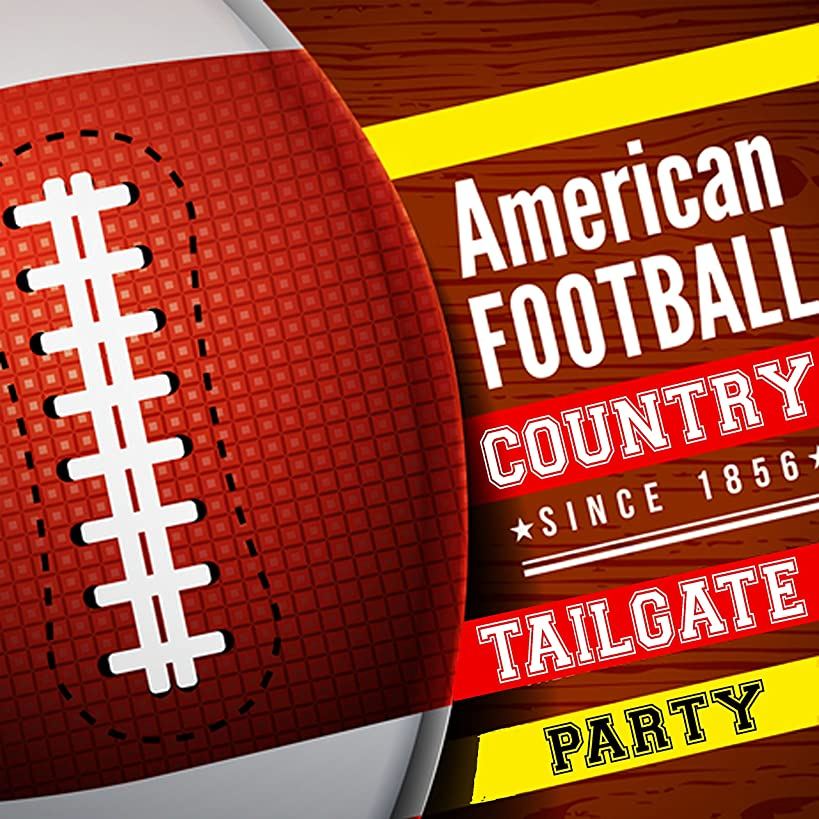 American Football Country Tailgate Party