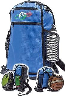 FitFitaly Sac de sport imperméable 14 L avec filet porte-bagages ou porte-casque – Robuste et spacieux, fermeture rapide