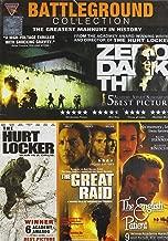 Battleground Collection (Set of 4 Movies - Zero Dark Thirty/The Hurt Locker/The Great Raid/The English Patient)