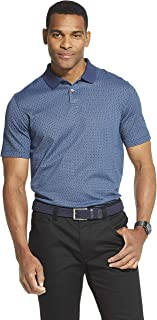 Men's Flex Short Sleeve Stretch Print Polo Shirt