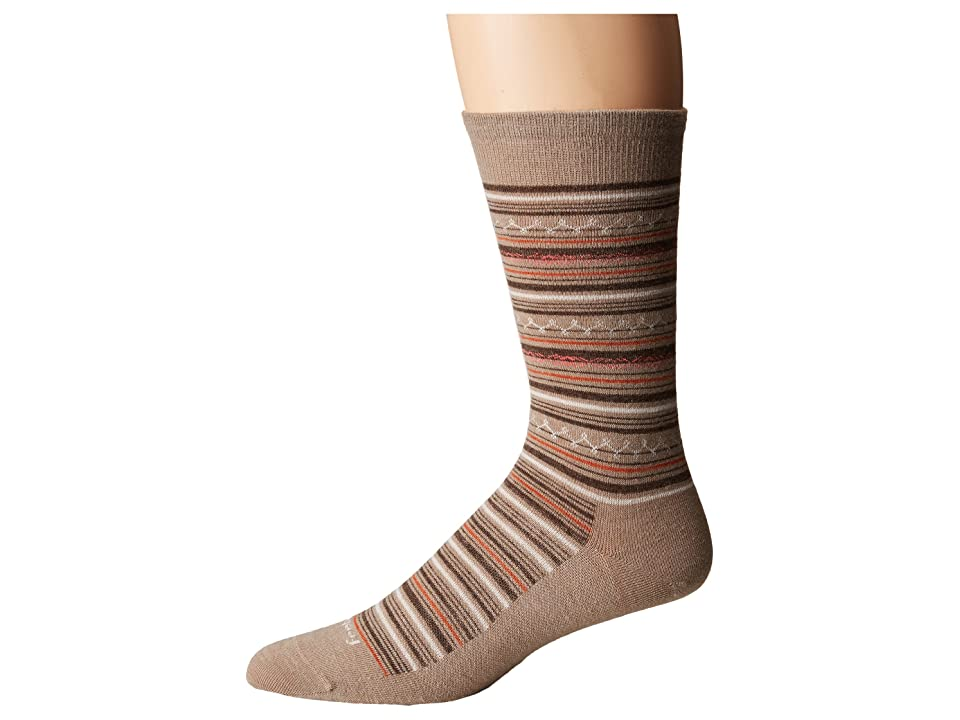 Feetures Santa Fe Ultra Light Crew Sock (Oatmeal) Crew Cut Socks Shoes