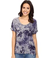 Three Dots - Nadine Scoop Neck Dolman T-Shirt