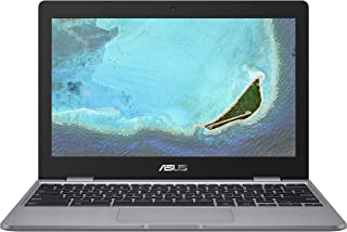 "Asus Chromebook C223NA#B08CVBK2J4, Notebook con Monitor 11,6"" HD Anti-Glare, Intel Celeron N3350, RAM 4GB, 32GB eMMC, Sist..."