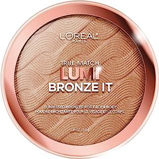L'Oreal Paris Cosmetics True Match Lumi Bronze It Bronzer For Face And Body, Medium, 0.41 Fluid Ounce