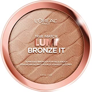L'Oreal Paris Cosmetics True Match Lumi Bronze It Bronzer For Face And Body, Medium, 0.41 Fluid Ounce