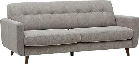 Rivet Sloane Mid-Century Modern Sofa with Tufted Back, 79.9