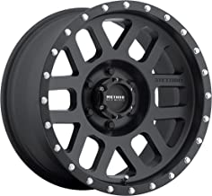 Method Race Wheels Mesh Matte Black Wheel with Stainless Steel Accent Bolts (18x9