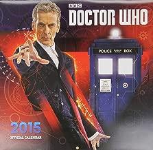 Official Doctor Who Square Calendar 2015