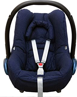 Blausberg Baby - Funda para Maxi Cosi cabriofix bebé en gris con estrellas