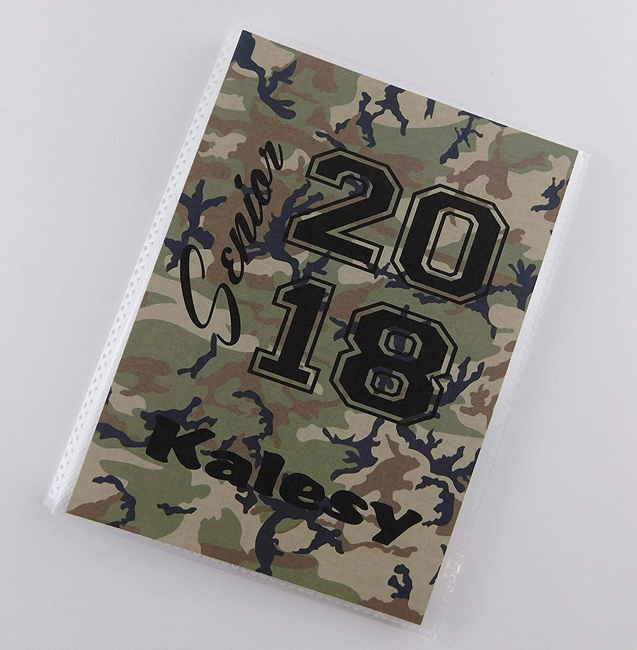 Class of 2018 2019 Senior Pictures IA#874 Graduation Gift For Senior 5x7 or 4x6 Pictures High School Highschool Boot Camp Camo Camouflage Army Military Khaki