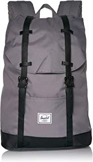 Retreat Mid-Volume Backpack, Grey/Black, One Size