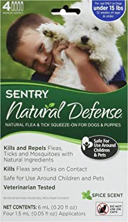 Sergeant's Pet Care Products, Inc. Sentry Natural Defense for Small Dogs 4 Count