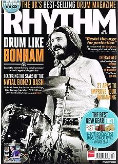 Rhythm Magazine (April 2013) Drum Like Bonham / Deftones - Abe Cunningham / Sam Doyle / Bon Jovi - Tico Torres