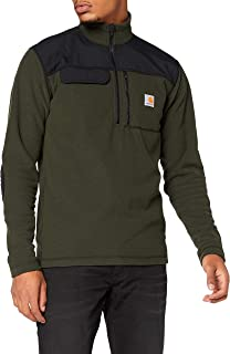 CARHARTT Men's Fallon Half Zip Sweater Fleece