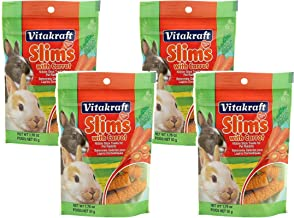 Vitakraft Slims with Carrot for Rabbits - 4 PACK