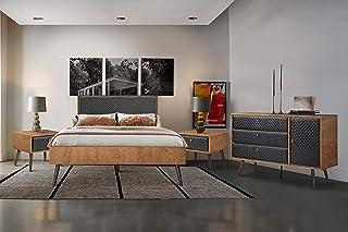 Amazon Com Bedroom Sets Metal Bedroom Sets Bedroom Furniture Home Kitchen