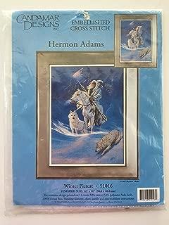 Embellished Cross Stitch: Winter Picture (Herman Adams)