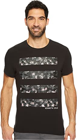 Kenneth Cole Sportswear - Camo Graphic Tech Tee