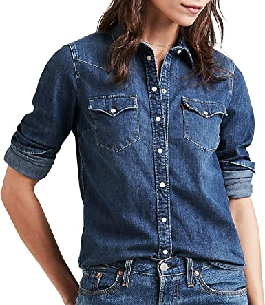 Levis Ultimate Western Camisa para mujer: Amazon.es: Ropa