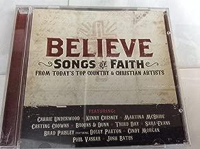 believe cd songs
