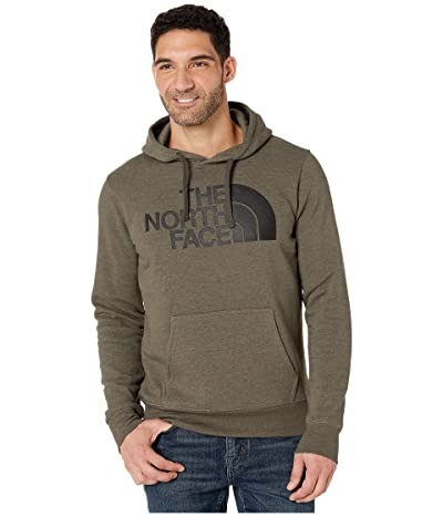 The North Face Half Dome Pullover Hoodie (New Taupe Green Heather) Men