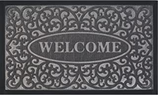 Extra Durable Door Mat, Welcome Mats for Front Door - Front Door Mat Outdoor, Welcome Mats Outdoor(30x18), Non-Slip Rubber...