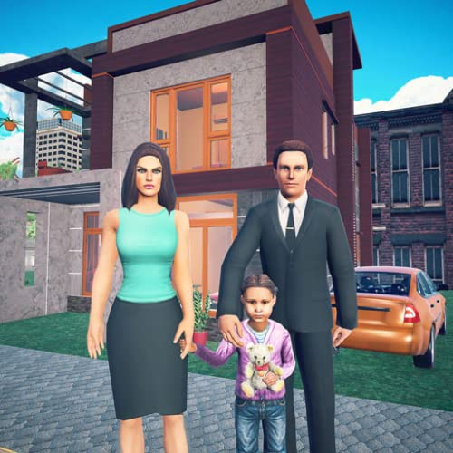 Virtual Happy Family Games: Dad simulator Home Sweet Home