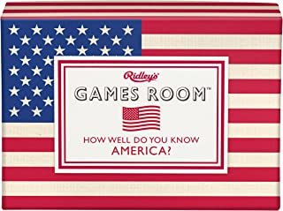 Ridley's Games Room How Well Do You Know America Trivia Deck Quiz Card Guess Game