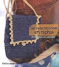 Sacs et accessoires en raphia: 20 modèles au crochet