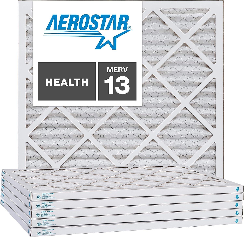 Manufacturer regenerated product Aerostar 16x16x1 MERV 13 Pleated Air Box Regular dealer of 4 Filter