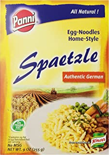 Panni Spaetzle Home-Style Egg Noodles, 9-Ounce Boxes (Pack of 12)