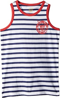 Cotton Jersey Graphic Tank Top (Big Kids)