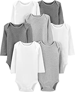 Baby 7-Pack Long-Sleeve Bodysuit