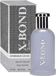 X-BOND SILVER Agua de tocador (Eau de Toilette) para hombres 100 ml - tiempo limitado oferta