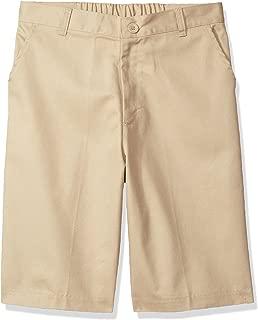 Big Boys Husky Flat Front Shorts