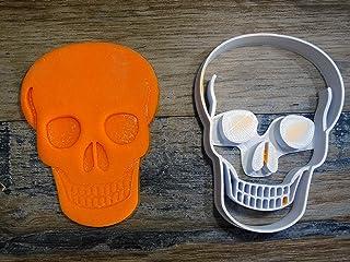 ELACE - Emporte-pièce thème Halloween Forme de Crane Tete DE Mort pour la Patisserie, sablé, Biscuit, pâte à Sucre, pâte à...