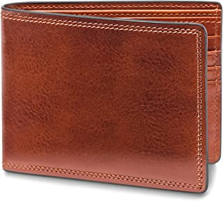 Bosca Men's 8 Pocket Deluxe Executive Leather Wallet