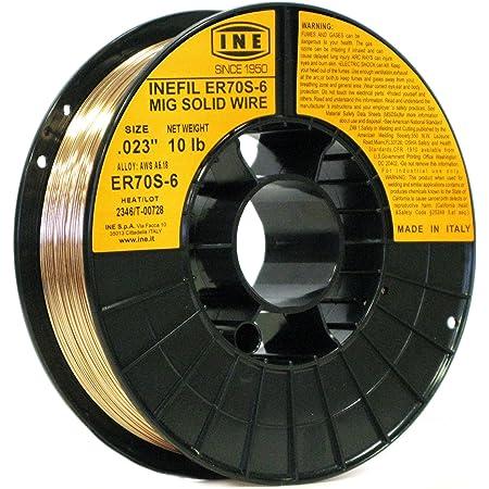 "Radnor .045/"" ER70S-6 P//3 S-30/"" Carbon Steel MIG Wire 45 lb 11.75/"" Spool 45 LBS"