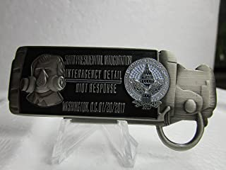 2017 Washington DC 58th President Trump & Vice President Inauguration Interagency Detail Riot Response Tear Gas Cannister Challenge Coin #2124
