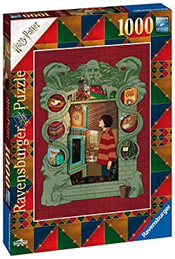 Ravensburger 16516 Harry Potter at Home with The Weasley Family 1000pc Jigsaw Puzzle for Adults & for Kids Age 12 and Up